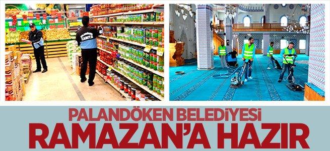 Palandöken Belediyesi Ramazan'a hazır