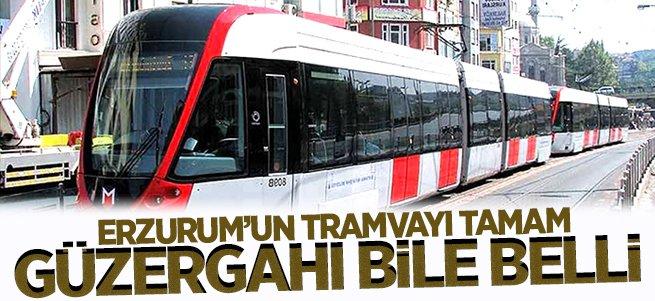 Tramvayın güzergahı belli oldu
