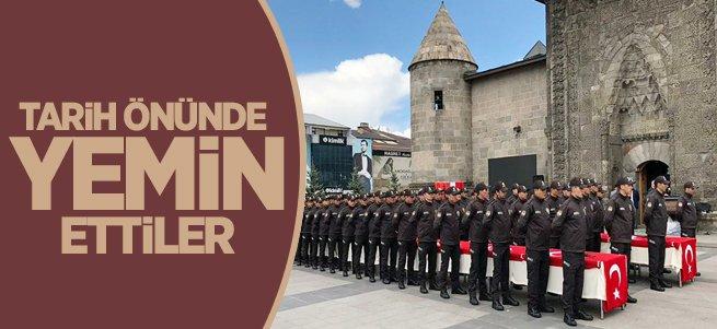Erzurum'un mahalle bekçileri yemin etti