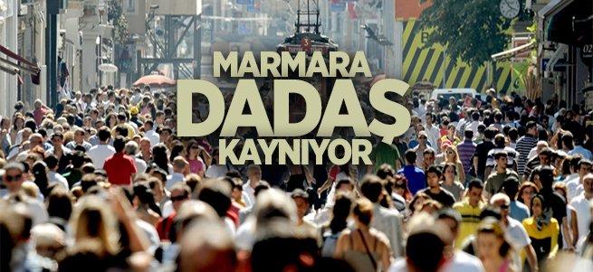 En fazla Dadaş Marmara Bölgesi'nde