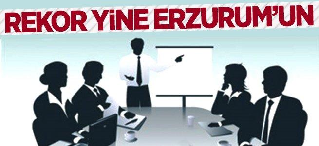 Rekor yine Erzurum'un