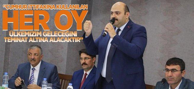 Başkan Orhan'dan ''Cumhur İttifakı'' açıklaması