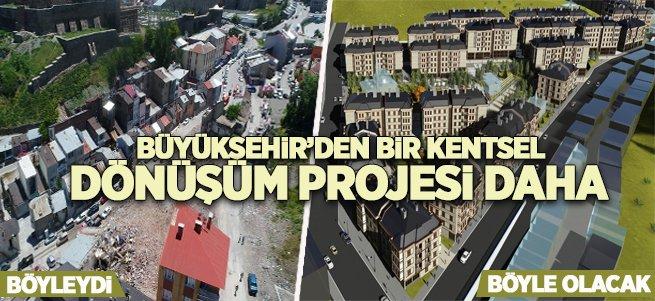 Büyükşehir'den yeni bir kentsel dönüşüm projesi