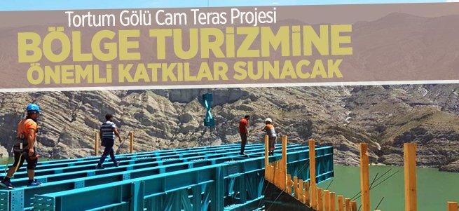 Tortum Gölü Cam Teras Projesi sürüyor