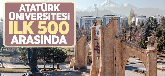 Atatürk Üniversitesi İlk 500 Arasında