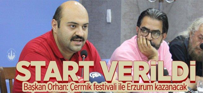 Aziziye Çermik Festivali İçin Start Verildi