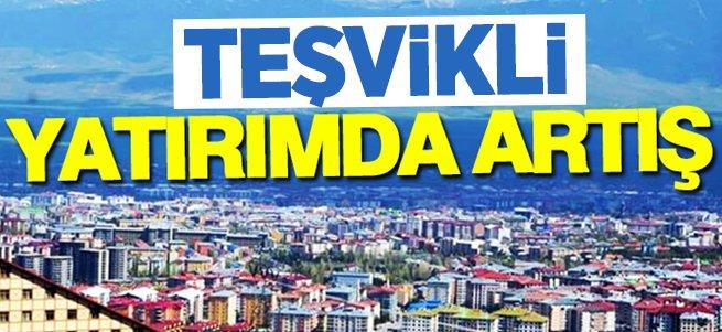 Erzurum'da teşvikli yatırım sayısı 401'e yükseldi