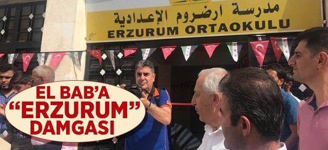 """ESTP'den El Bab'a """"Erzurum"""" Mührü"""