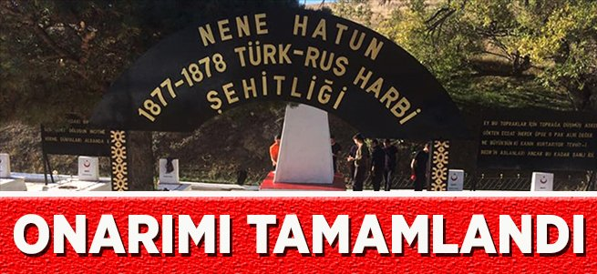 Türk-Rus Harbi Şehitliğinin Onarımı Tamamlandı