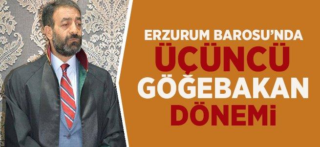 Erzurum Barosunda 3. kez Göğebakan dönemi
