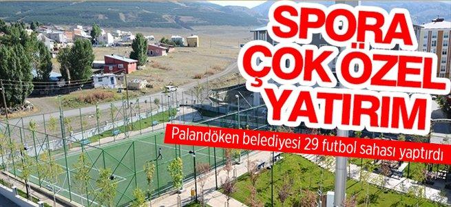 Palandöken Belediyesi'nden spora çok özel yatırım