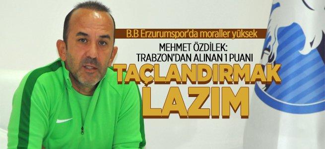 ''Trabzon'dan alınan 1 puanı taçlandırmak lazım''