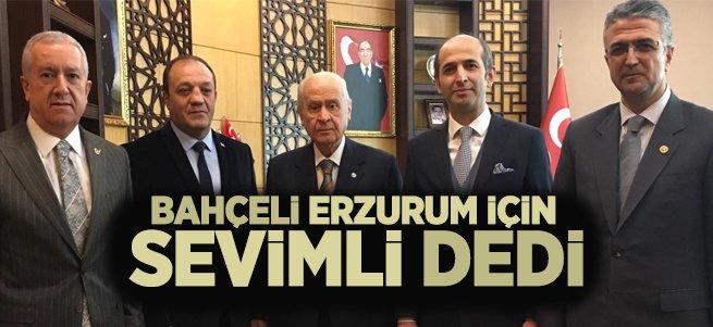 MHP'nin Erzurum Büyükşehir Adayı Belli Oldu