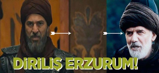 Diriliş Ertuğrul dizisi Erzurum ile gündemde!