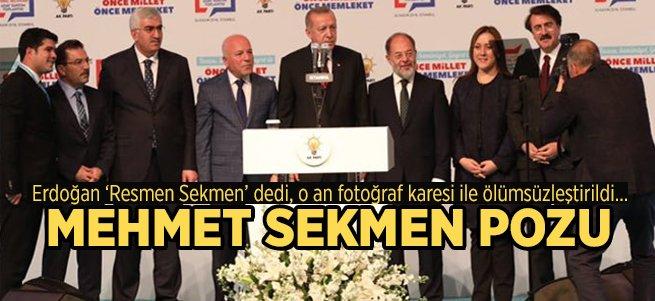 Mehmet Sekmen Resmen Aday