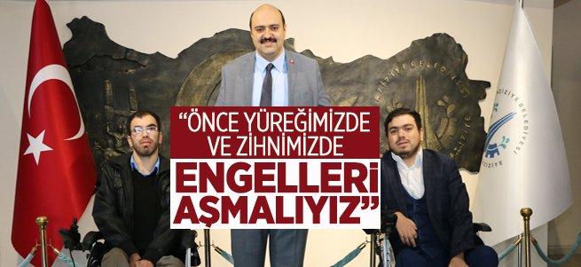 Başkan Orhan'dan anlamlı mesaj