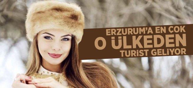 Erzurum'a en çok o ülkeden turist geliyor
