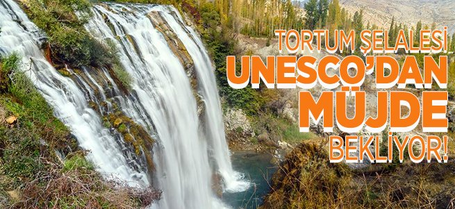 Tortum şelalesi UNESCO'dan müjde bekliyor!