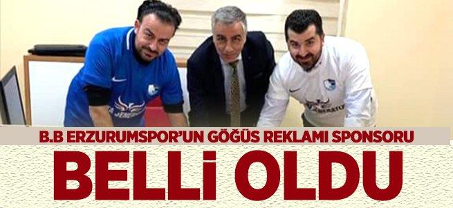 B.B Erzurumspor'un sponsoru belli oldu