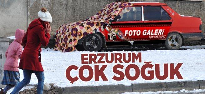 Erzurum çok soğuk