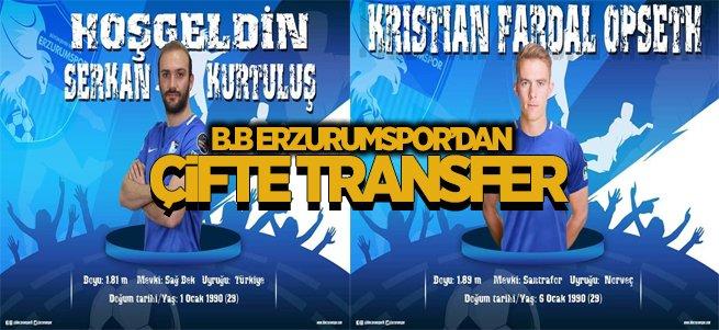 B.B Erzurumspor'a Norveç'ten forvet geldi