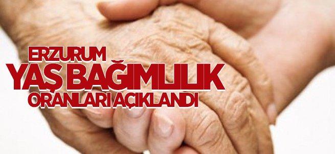 Erzurum Yaş Bağımlılık Oranları Açıklandı