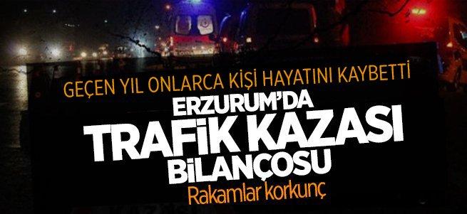 Erzurum'da 50 kişi hayatını kaybetti