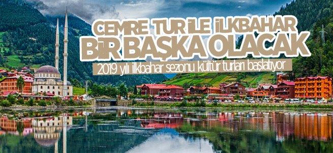 Cemre Tur ile ilkbahar kültür turları başlıyor