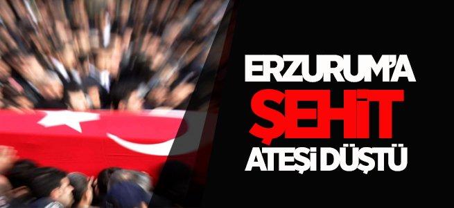 Erzurumlu asker Afrin'de şehit düştü