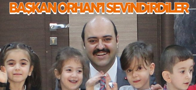 Başkan Orhan'ı sevindiren ziyaret