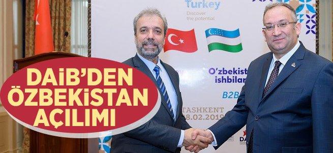 DAİB'den Özbekistan Açılımı