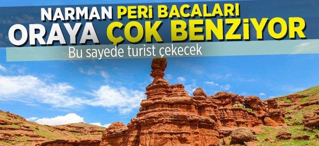Narman Peri Bacaları Benzerlikten Turist Çekecek