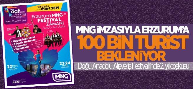 Erzurum'a 100 Bin Turist Bekleniyor