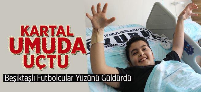 Beşiktaşlı Futbolcular Yüzünü Güldürdüler
