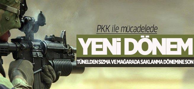 PKK ile mücadelede yeni dönem