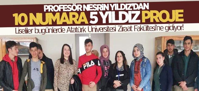 Ziraat Fakültesi'nde takdirlik proje!
