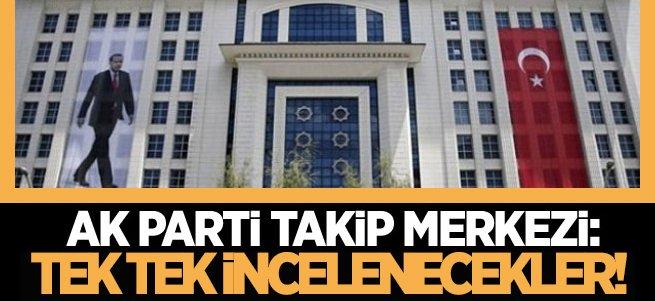 AK Parti takip merkezi: Tek tek izlenecekler!