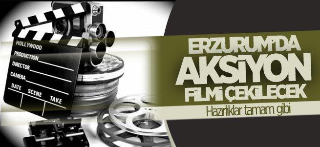 Erzurum'un tanıtımına ''aksiyon film' dopingi