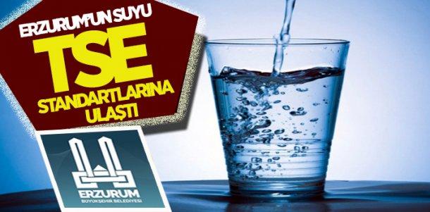 Erzurum'un musluk suyu dünya standartlarına ulaştı