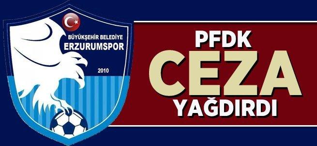 B.B Erzurumspor'a ceza üstüne ceza yağdırdılar