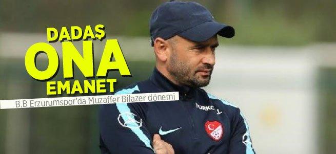 Muzaffer Bilazer Erzurumspor'un hocası oldu