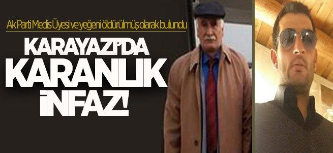 Karayazı'da amca-yeğene sır infaz!