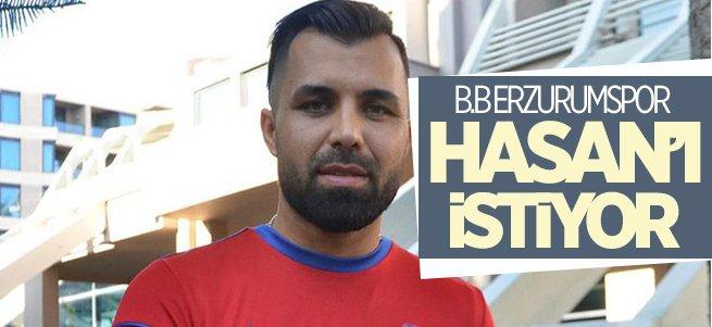 B.B Erzurumspor Hasan Hatipoğlu'nu istiyor