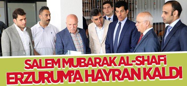 Katar Büyükelçisi Erzurum'a Hayran Kaldı