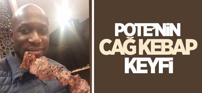 Pote'nin Cağ Kebap Keyfi