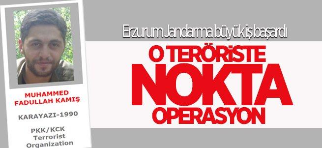 Erzurum Jandarma'dan büyük operasyon