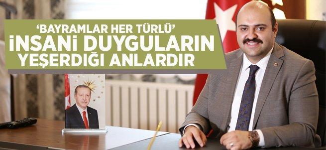 Başkan Orhan'dan Kurban Bayramı Mesajı