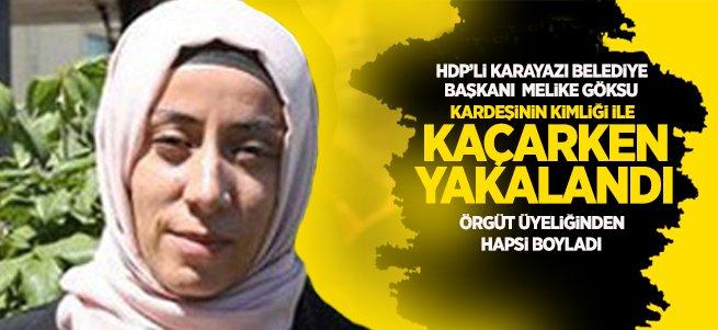 HDP'li Karayazı belediye başkanı kaçarken yakalandı