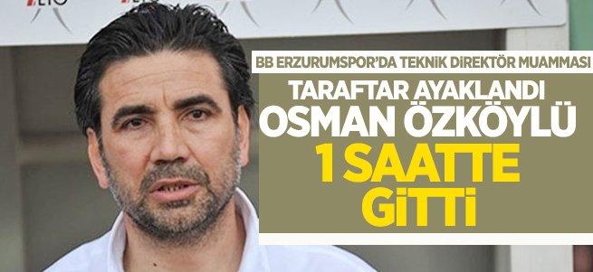 Osman Özköylü'de geri adım atıldı