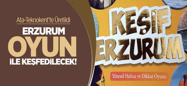 Erzurum konulu zeka oyunu üretildi!